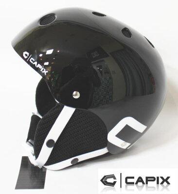 スノーボード ヘルメット●CAPIX【キャピックス】ヘルメット●TEAM /GLOSS BLACK ウィンター仕...