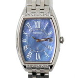 【中古】SEIKO/セイコールキアレディースウォッチ腕時計ソーラー電波時計ダイヤ入りケース保証書付FS美品Sランク