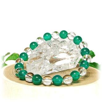 綠瑪瑙 (瑪瑙) 晶體 8 毫米手鏈綠瑪瑙 (瑪瑙) 石英天然石石綠色瑪瑙 (瑪瑙) 水晶石英天然石手鏈電力石手鏈天然石石手鏈綠瑪瑙 (瑪瑙)