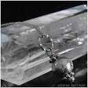 ギベオン隕石(メテオライト)(シルバーカラー) 8mm ドロップ ネックレス...