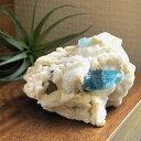 レア/一点もの アクアマリン結晶付き 原石 クラスター タプリジュン産 ...