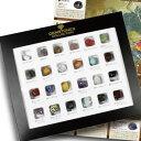 天然石タンブル詰め合わせ(24種類) 世界の鉱物コレクションボックス鉱物M...