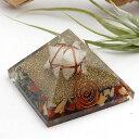 オルゴナイト ピラミッド(ヒマラヤ水晶 マルカバスター入り) オルゴナイト...