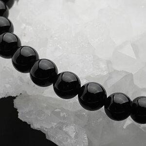 天然モリオン(黒水晶)AAA12mm(ロシア産)<天然石パワーストーンブレスレット>ブレスモーリオンケアンゴームカンゴーム12ミリAAA級送料無料レディースメンズ【厄除け厄年魔除け災難除けお守り幸運】