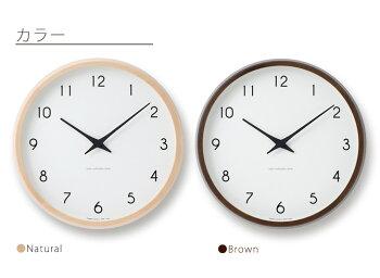 【送料無料】時計壁掛け掛け時計掛時計電波時計LEMNOS(レムノス)/Campagne(カンパーニュ)デザイン電波時計細字φ294mm)おしゃれシンプル人気PC10-24W