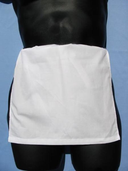 越中ふんどし 日本製 白色 綿100% 稲田布帛工業所 製造直売