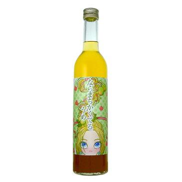 奈良・八木酒造 ならまちかくてる うめ 500mlならまちをイメージしたキュートなリキュール