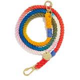 【FOUND MY ANIMAL ファウンドマイアニマル】Cotton Rope Dog Leash Adjustable アジャスタブルリード Henri/ヘンリ ■ネコポス送料無料■