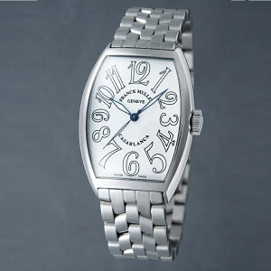 [フランクミュラー]新品・純正BOX付 FRANCK MULLER 腕時計 カサブランカ ホワイト/ステンレスブレス 自動巻 5850CASA メンズ 【並行輸入品・1年保証】