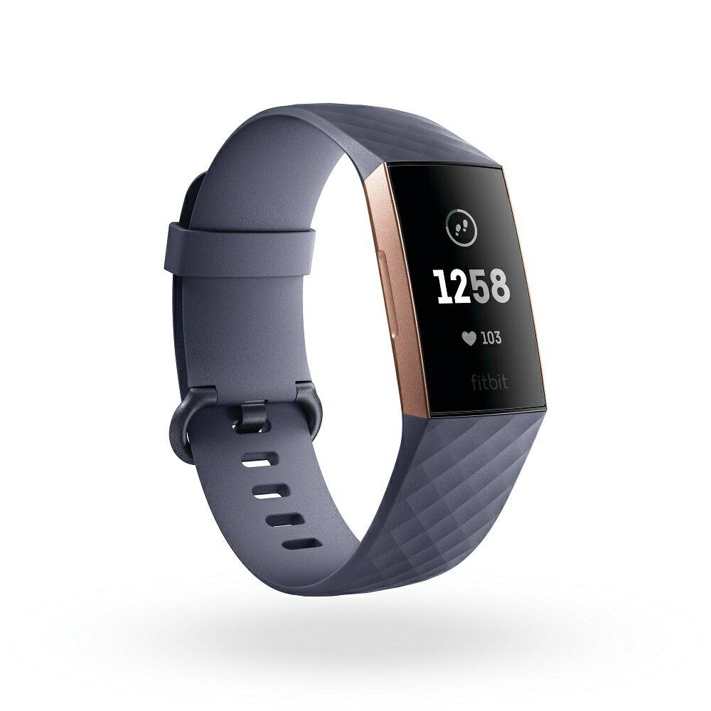 在庫あります!Fitbit Charge 3  フィットビット チャージ 3 FB410RGGY-CJK 【安心の3年保証】スマートウォッチ ウェアラブル 心拍数 健康