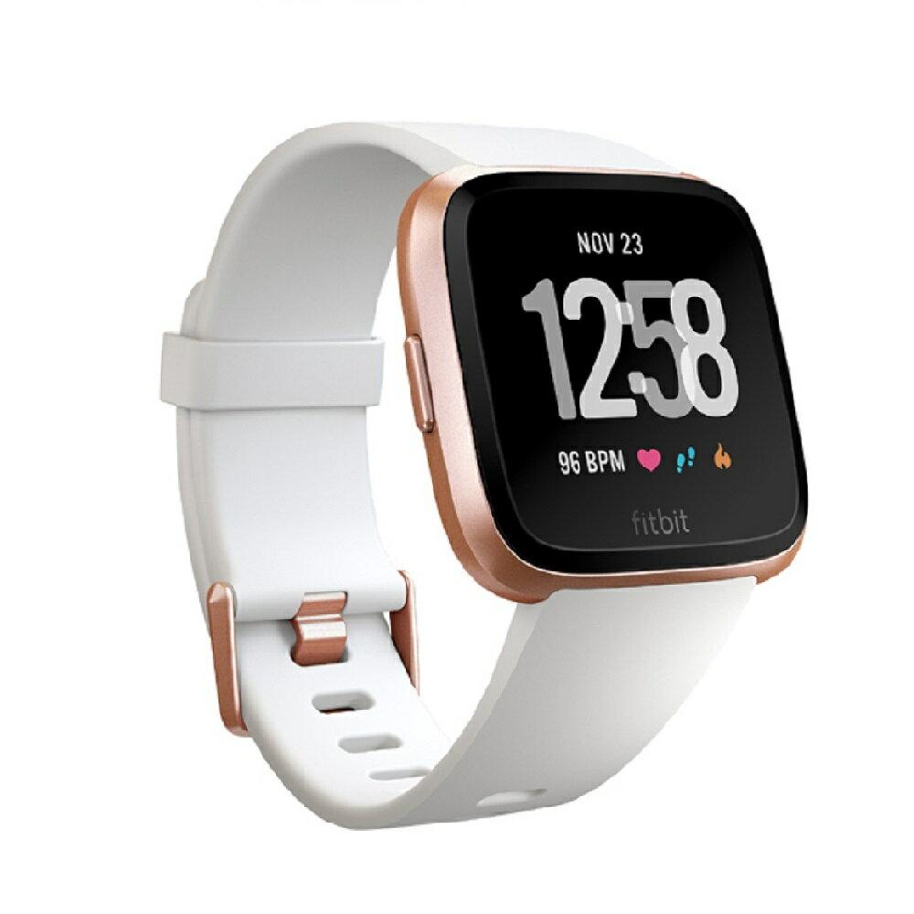 4/26(金)1:59までエントリーで5倍!さらにクーポン利用可能!Fitbit Versa フィットビット ヴァーサ FB505RGWT-EU 【安心の3年保証】スマートウォッチ ウェアラブル