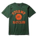 ストーミーSTORMYtシャツRATCLUBSST-SHIRTSIVYGREEN半袖Tシャツオリジナルアイビーグリーン