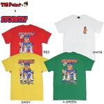 【TMPaintxSTORMY】COLLABOPOLICE&BOYS/STEE(WHITE)(RED)(A.GREEN)(DAISY)(TMストーミーコラボレーション半袖Tシャツホワイトレッドグリーンデイジー)19m