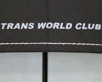 裾にはステッチミシン加工&ワンポイントのロゴ・プリント