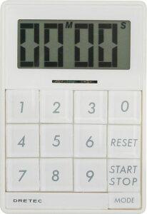 ドリテック デジタル タイマー キュービック ホワイト