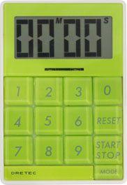 ドリテック デジタル タイマー キュービック グリーン