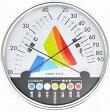 【2160円以上送料無料】 ドリテック 熱中症・インフルエンザ警告温湿度計 ホワイト O-311WT