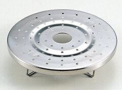 【2160円以上送料無料】ステンレス製鍋用 蒸し目皿(蒸し器) 16〜18cm兼用