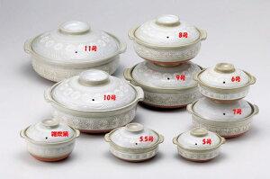 四日市萬古焼、安心の日本製土鍋。電子レンジ、オーブンも可。【日本製】【2000円以上送料無料...
