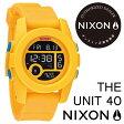 nixonが激安!全品送料無料!【日本 正規品】 NIXON(ニクソン) 腕時計 『THE UNIT 40』 BRIGHT ORANGE(ブライト オレンジ) レディース腕時計 オンライン正規取扱店