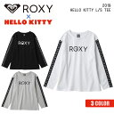 19 ROXY ロキシー ハロー キティ ロンT 長袖 Tシャツ ロゴ 45周年 コラボ レディース 2019年秋冬モデル HELLO KITTY L/S TEE 品番 RLT194037 日本正規品