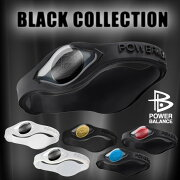 COLLECTION バランス ブラック コレクション ホログラム シリコン ブレスレット