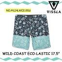 2019年6月中旬出荷 予約商品 【VISSLA(ヴィスラ)】 WILD COAST ECO-LASTIC 17.5