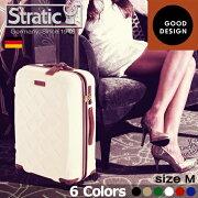 ストラティック スーツケース セキュリティ ファスナー キャリーバッグ ヒノモト ポイント デザイン
