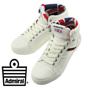 ADMIRAL MANCHESTER UK ホワイト/トリコロール