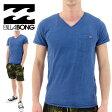 ビラボン VネックTシャツ ポケットTシャツ AG011305 ロゴTシャツ 通販 販売 即納 人気 2016年 新作 半袖Tシャツ ショートスリーブTシャツ 無地Tシャツ