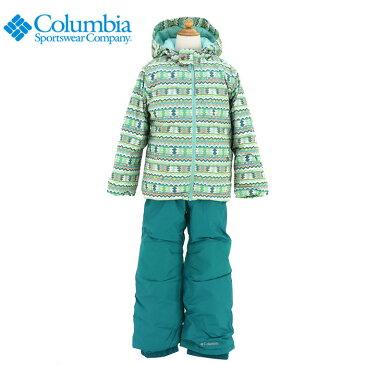コロンビア 子供用 スキーウェア キッズ スノーボードウェア 上下セット COLUMBIA SY1092