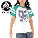 クロックス キッズ Tシャツ ナンバリング 110〜160cm 半袖 ...