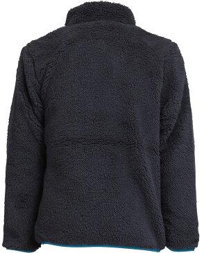 クロックス キッズ ボアジャンパー 110-160cm 長袖 ガールズ ボーイズ 148278 チャコールグレー