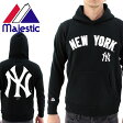 MAJESTIC プルオーバーパーカー マジェスティック メンズ ニューヨークヤンキース MM06-NYK-0080