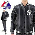 ニューヨークヤンキース ジャケット 黒 マジェスティック