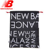 ニューバランス シューズバッグ シューズケース JABP0618 BM ブラック モノグラム ロゴ