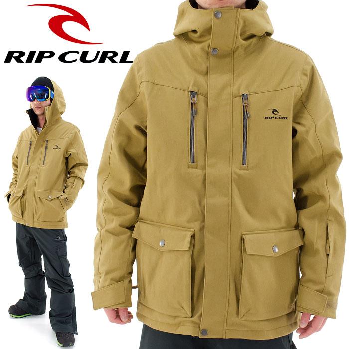 スノボジャケット メンズ Rip Curl スノーボードウェア リップカール スノーボードジャケット W40-757