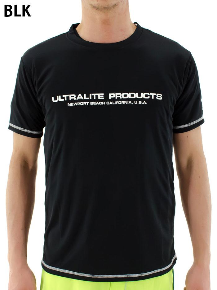 メンズ半袖ラッシュガードラッシュTシャツUVカット日焼け防止速乾吸収プール海ジム水着Tシャツ