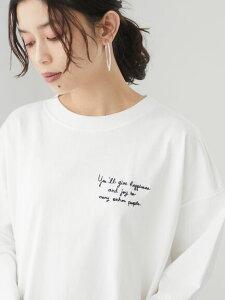 【 送料無料 】【Green Parks】胸元刺繍ロンT レディース グリーンパークス 春夏 夏 2021