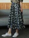 【メーカー公式】【AMERICAN HOLIC】 フロントタックギャザースカート2 アメリカンホリック アメホリ ファッション カジュアル 流行 かわいい きれいめ おしゃれ