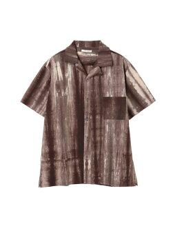 【koe】ブロードタイダイオープンカラーシャツ
