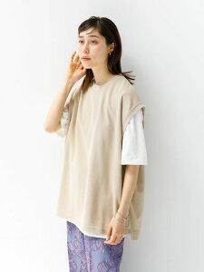 【 送料無料 】【koe】SETベスト&半袖TEE コエ 春夏 夏 2021