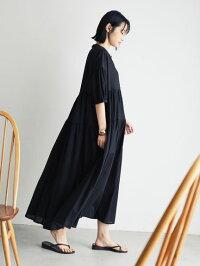 【CRAFTSTANDARDBOUTIQUE】ティアードマキシワンピース