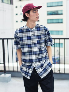 【 送料無料 】【CRAFT STANDARD BOUTIQUE】バンドカラーオックスシャツ メンズ クラフトスタンダードブティック 春夏 夏 2020