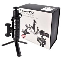ピカギア(Pica-Gear)PICA-PODマウントベースミニ三脚ミルスペック対応アルミ6061製PG-001スターターパック三脚