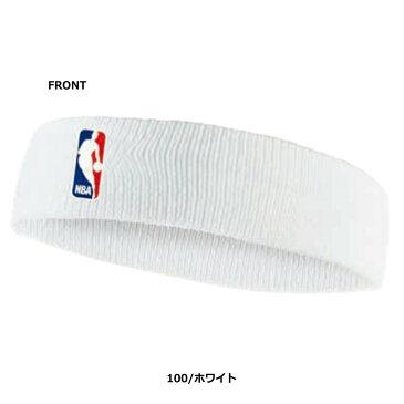 [ネコポス可]NIKE ヘッドバンド NBA トレーニング DRY-FIT ホワイト nb1001