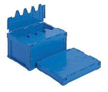 折りたたみ収納ボックス・折りたたみ収納ケースSオリコン25B≪外寸:445x329x243mm≫