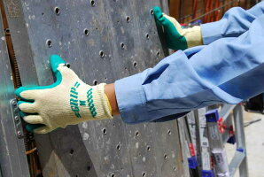 310グリップ(ソフトタイプ)10双Sサイズ天然ゴムコーティング手袋ショーワグローブショーワ