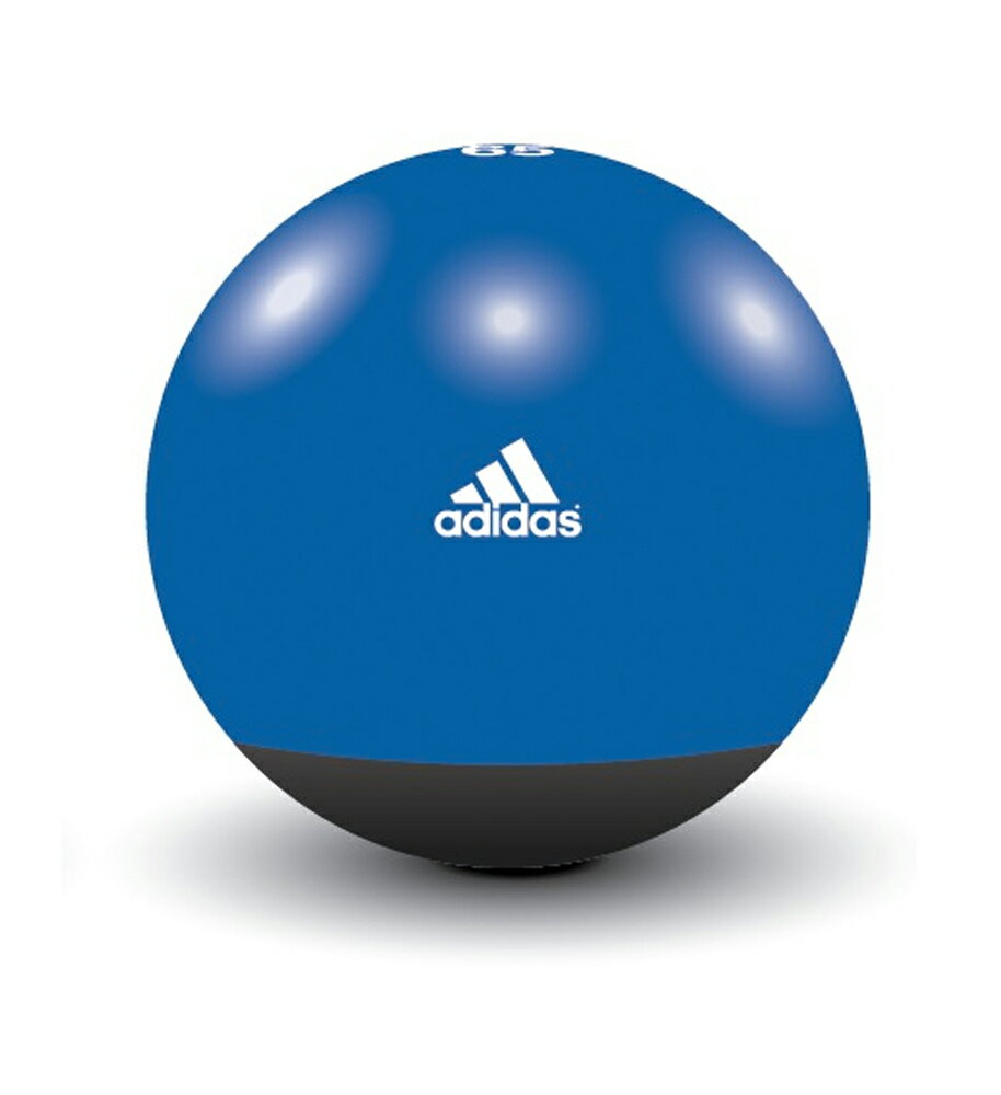 adidas(アディダス) プレミアムジムボール 65cm ブルー