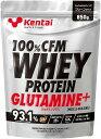 健康体力研究所(Kentai) 100%CFMホエイプロテイングルタミンプラス マッスルビルディング プレーン 850g プロテイン strongsports その1